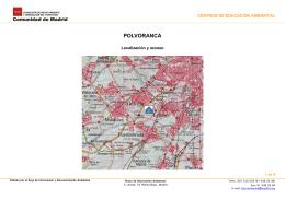 Localización y accesos al Centro Polvoranca