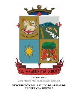 Escudo de Armas - Cadereyta Jimenez