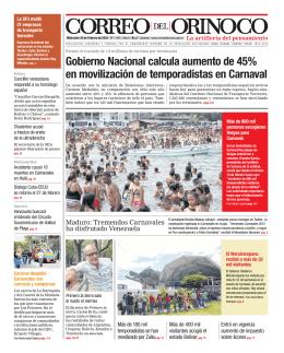 s - Correo del Orinoco