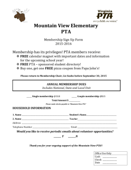 Mountain View Elementary PTA