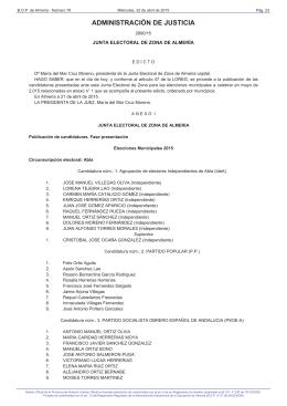 lista electoral 2015