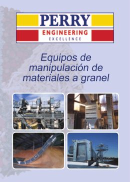 Equipos de manipulación de materiales a granel
