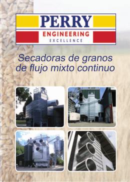 Secadoras de granos de flujo mixto continuo
