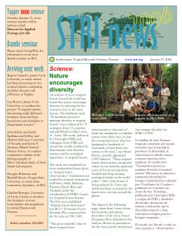 Bambi seminar - Smithsonian Tropical Research Institute