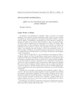 ¿Qué era un irracional para un matemático griego antiguo?