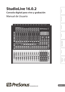 StudioLive™ 16.0.2