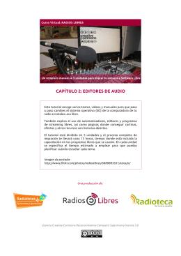 CAPÍTULO 2: EDITORES DE AUDIO