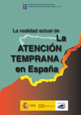 La ATENCIÓN TEMPRANA en España