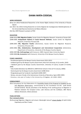 my CV (updated January 2015