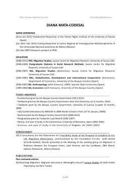 my CV (updated January 2015