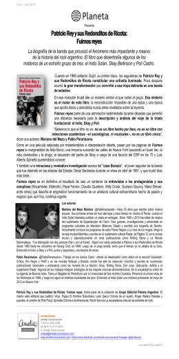 Patricio Rey y sus Redonditos de Ricota: Fuimos reyes