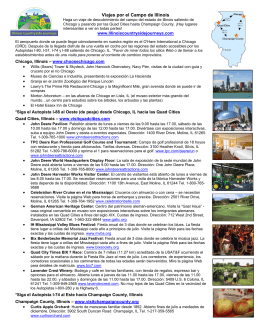 Viajes por el Campo de Illinois - Quad Cities Convention and