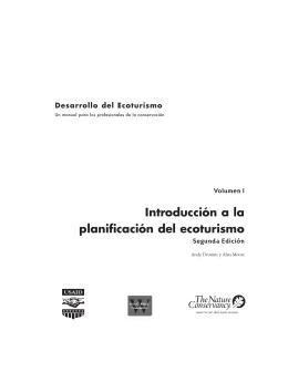 Manual para el desarrollo del Ecoturismo Vol 1