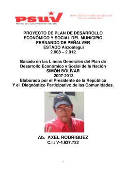 Ab. AXEL RODRIGUEZ - Consejo Nacional Electoral