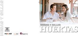 MESAS Y SILLAS - Fabrica de Muebles Hukam Grupo Huertas