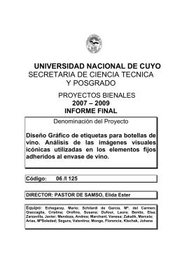 universidad nacional de cuyo secretaria de ciencia tecnica y posgrado