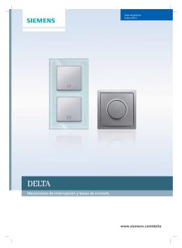 www.siemens.com/delta Mecanismos de interrupción y bases de