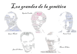 Los Grandes de la Genética