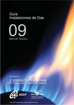 Guía Instalaciones de Gas