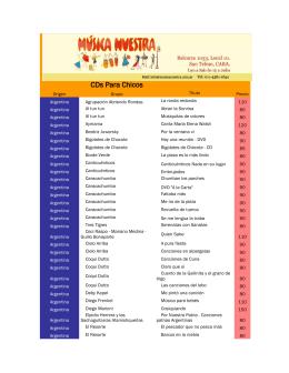 Descargar el Catálogo PDF