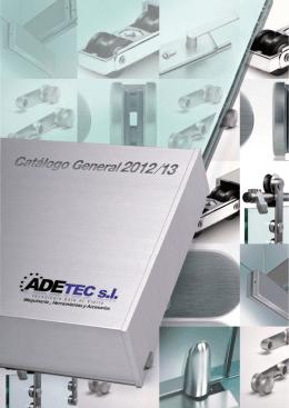 CATALOGO ADETEC 2013 - ADETEC maquinaria accesorios y
