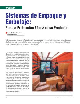 Sistemas de Empaque y Embalaje:
