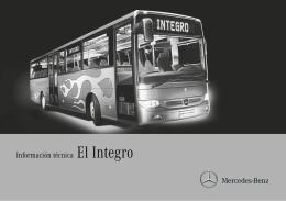 Información técnica El Integro - Mercedes