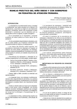 4º Foro de Pediatría de Atención Primaria de Extremadura