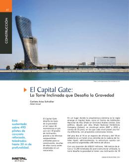El Capital Gate: La Torre Inclinada que Desafía la Gravedad