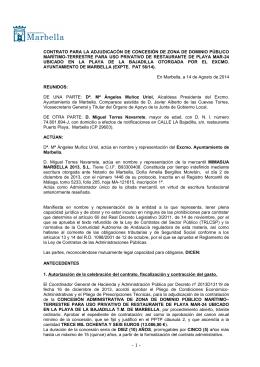 Contrato. TORRES NAVARRETE, MIGUEL