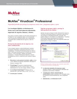 McAfee VirusScan Professional