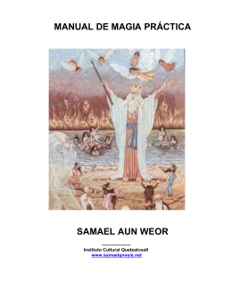 manual de magia práctica samael aun weor