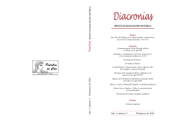 Diacronías - Palabra de Clío
