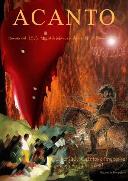 Revista del I.E.S . Miguel de Molinos. Año 6 Nº 17 Primavera 2008