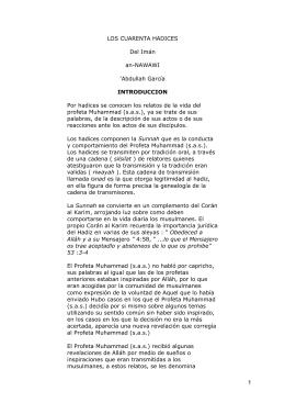 LOS CUARENTA HADICES\374