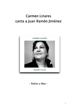 Carmen Linares Carmen Linares canta a Juan