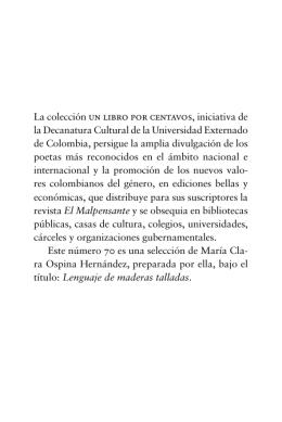 70. Ospina.indd - Universidad Externado de Colombia