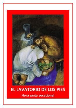 EL LAVATORIO DE LOS PIES