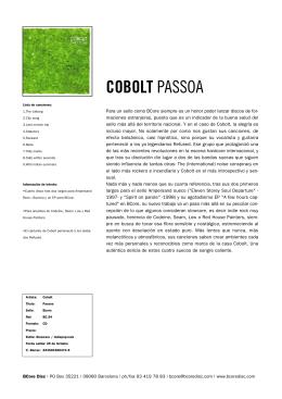 COBOLT PASSOA