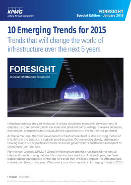 10 Emerging Trends for 2015