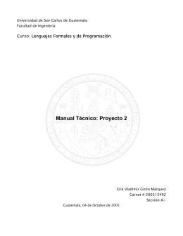 Universidad de San Carlos de Guatemala - proyectos-kreig-usac