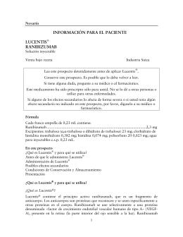 Prospecto Lucentis