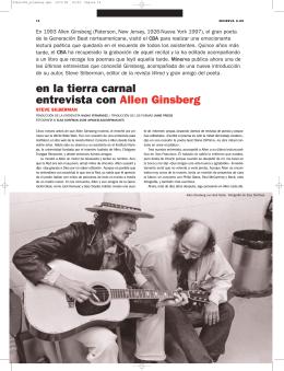 Allen Ginsberg - Círculo de Bellas Artes