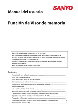 Función de Visor de memoria