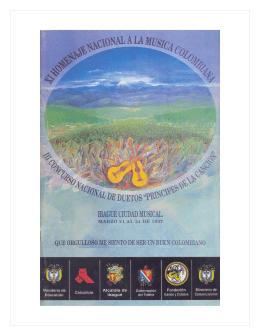 1997 haz click sobre la imagen - Fundación Musical de Colombia