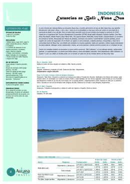 Estancias en Bali: Nusa Dua