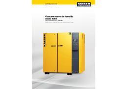 Compresores de tornillo Serie CSD