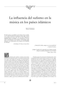La influencia del sufismo en la música en los países islámicos L