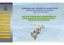 Proyecto de Actualización de Cartografía Digital en el Estado de