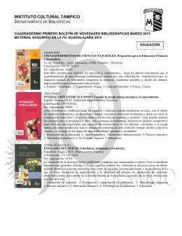 Instituto Cultural Tampico ICT